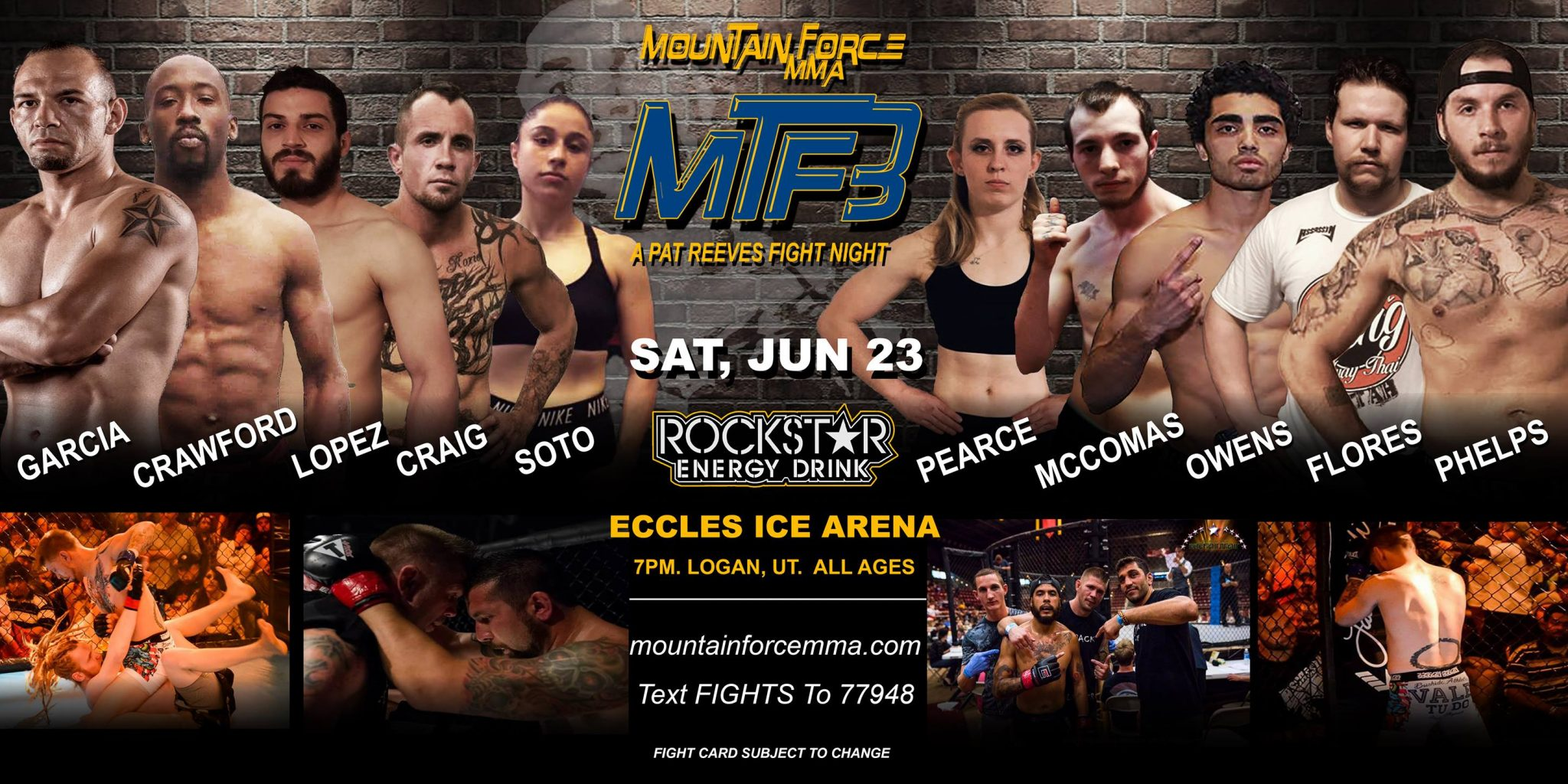 Mountain Force MMA 3 - Official PPV Live Stream