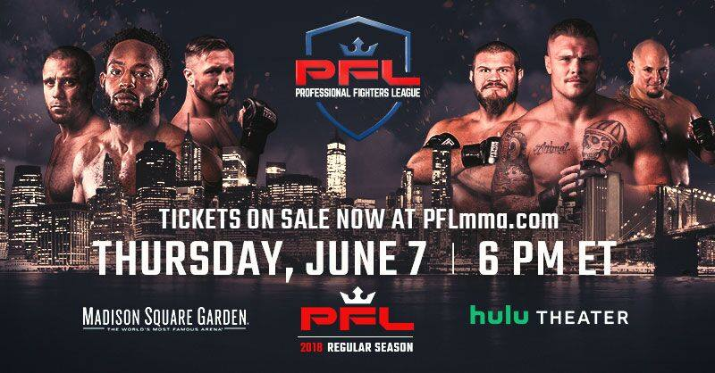 PFL 1 Results: Harrison vs. Tuerxun from Hulu Theater at Madison Square Garden