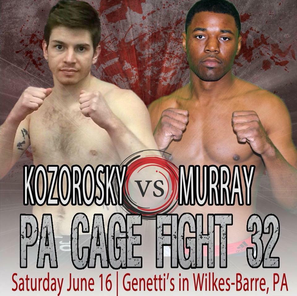 PA Cage Fight 32, Kaheem Murray
