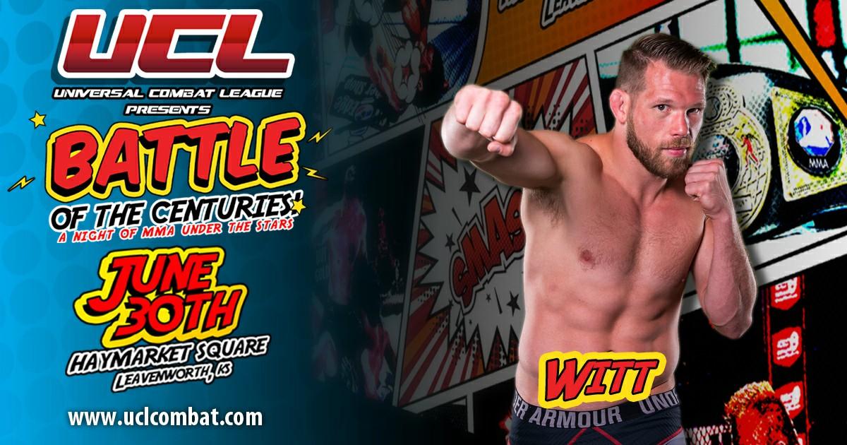 Jason Witt fights with new purpose, headlines United Combat Leauge this weekend