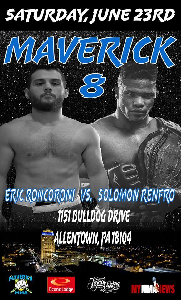 Maverick MMA 8, Eric Roncoroni, Solomon Renfro