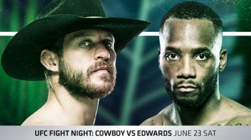 UFC Fight Night 132 Results – Donald 'Cowboy' Cerrone vs. Leon Edwards