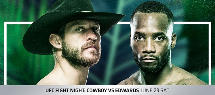 UFC Fight Night 132 Results - Donald 'Cowboy' Cerrone vs. Leon Edwards