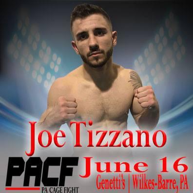 PA Cage Fight 32, Joe Tizzano