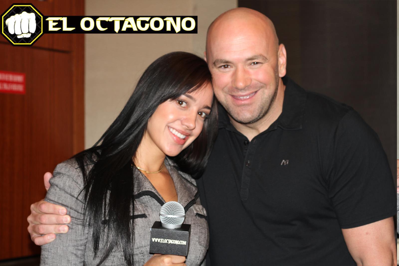 El Octagono, Andrea Calle, Dana White