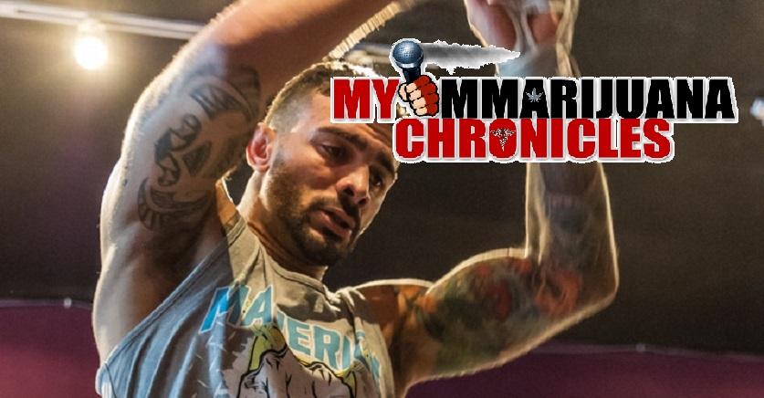 "MyMMArijuanaChronicles episode 3: Kris ""The Honeybadger"" Gratalo"