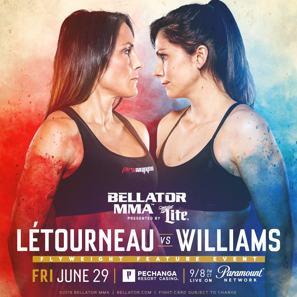 Kristina Williams, Bellator 201