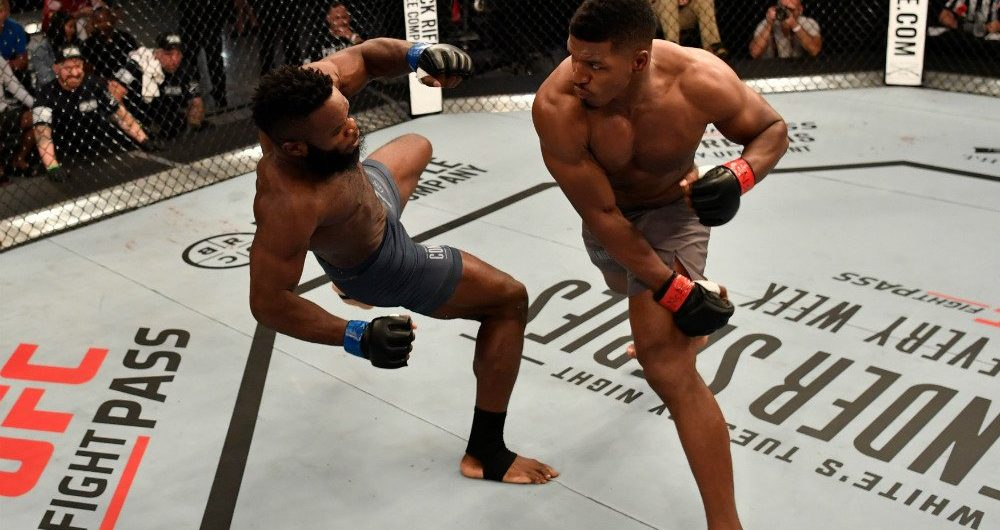 Alonzo Menifield, Greg Hardy earn UFC contracts on Dana White's Tuesday Night Contender Series