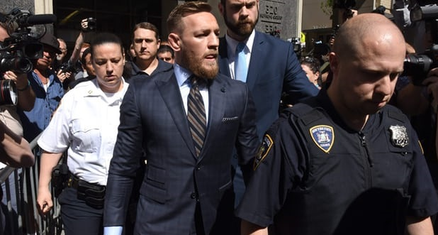 After court appearance Conor McGregor's team negotiate plea, next hearing set for July 26
