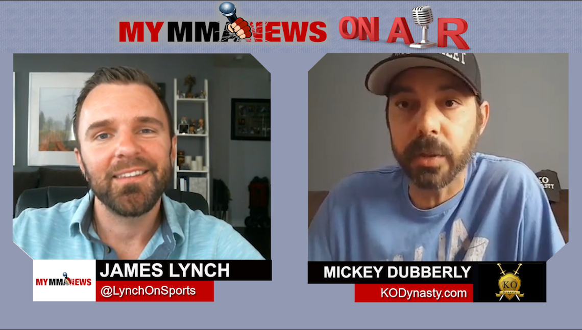 Mickey Dubberly Looking To Help UFC fighters With The Re-launch of KO Dynasty Management