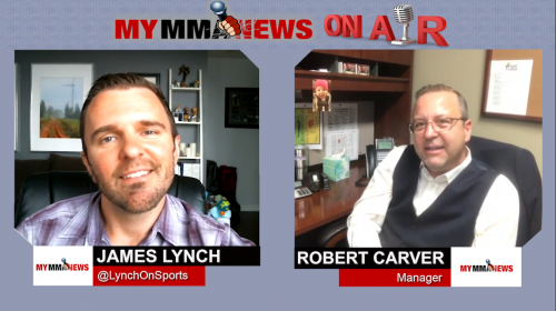 Manager Robert Carver Talks About His Experience In The MMA Industry