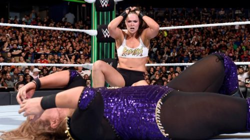 Ronda Rousey's performance at 'Money in the Bank' shows progress and potential for her WWE career