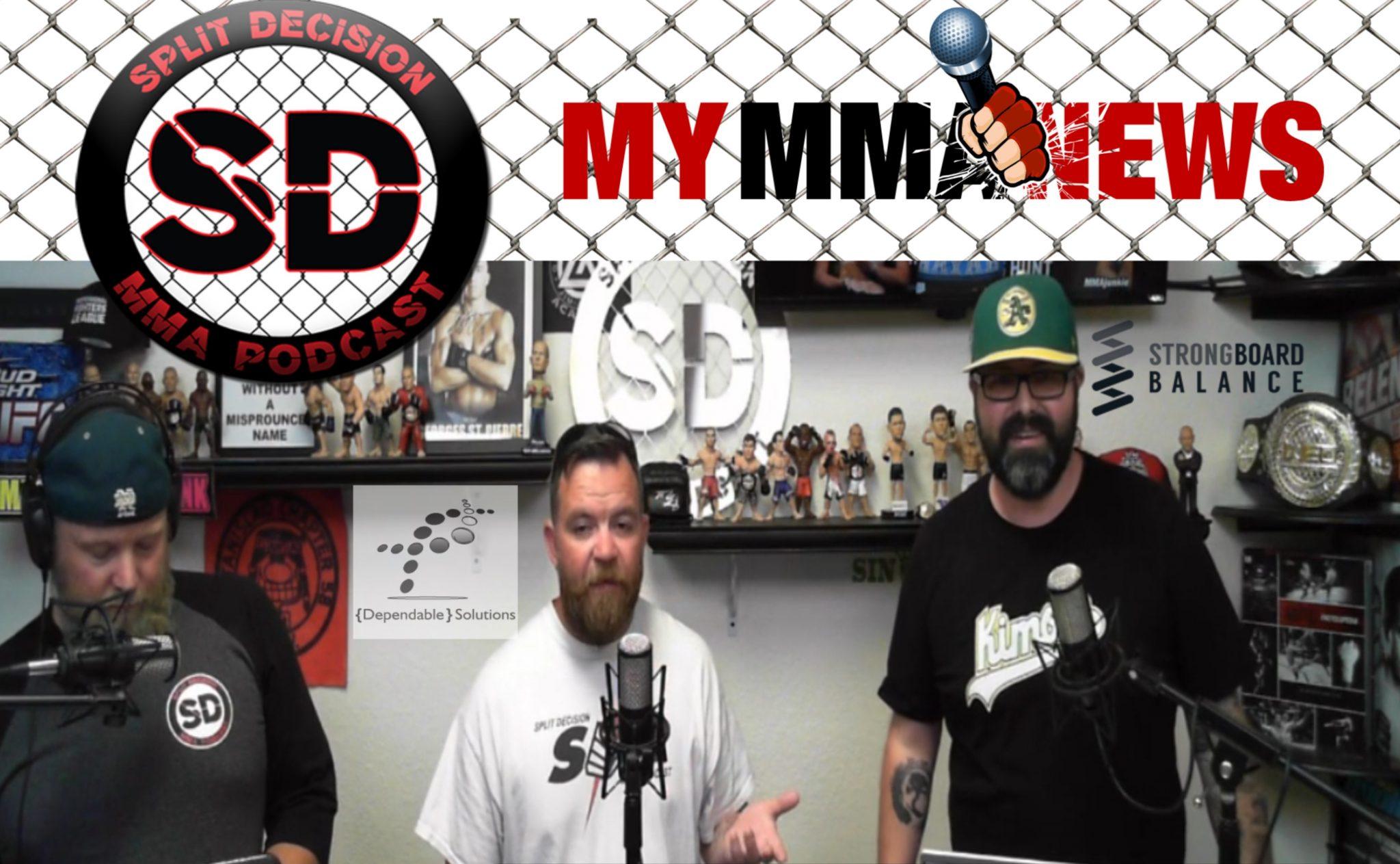 Lyoto Machida to Bellator, Josh Barnett request out - Split Decision MMA Podcast