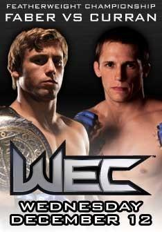 Urijah Faber vs Jeff Curran
