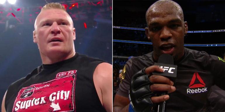 Brock Lesnar vs Jon Jones