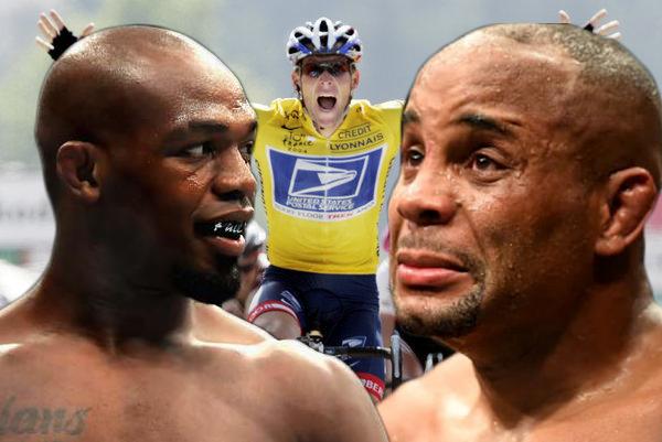 Daniel Cormier, Lance Armstrong, Jon Jones