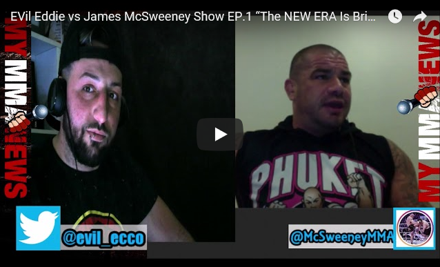 "EVil Eddie vs. James McSweeney Show Episode 1 ""The NEW ERA Is Bright"""