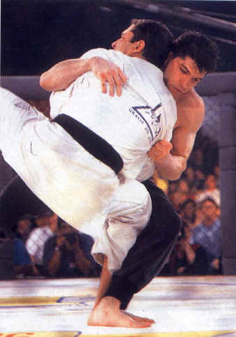 Jason DeLucia, Royce Gracie