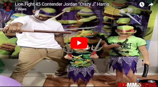 "Meet Undefeated Lion Fight 45 Contender Jordan ""Crazy J"" Harris"