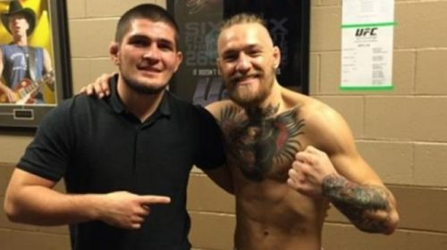 "Khabib Nurmagomedov on Conor McGregor: ""I will destroy him"""