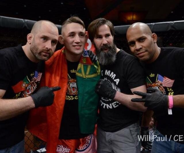 Kris Moutinho looks to get back in the win column at CES 50 on June 15