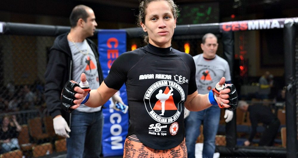Maria Rivera makes her return to MMA at CES 50