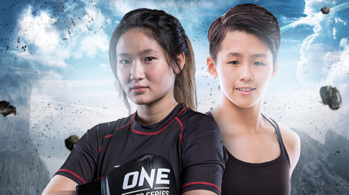 Yodcherry Sityodtong takes on Kaiting Chuang for inaugural ONE Super Series Kickboxing atomweight world title