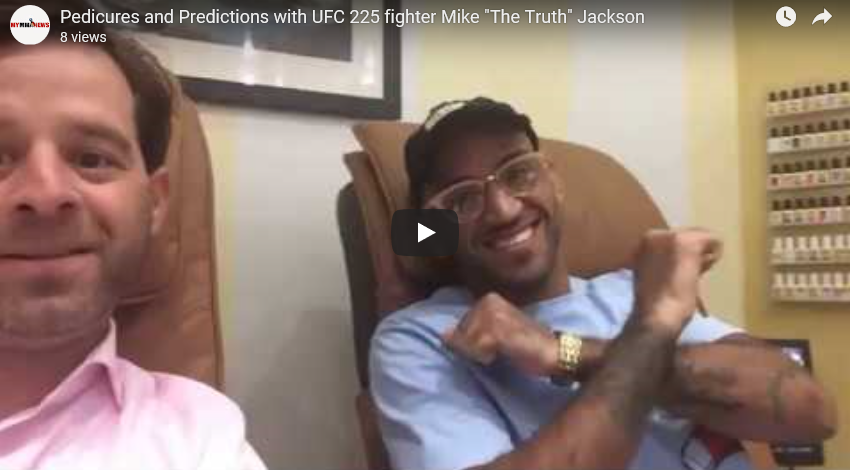"Pedicures and Predictions with Mike ""The Truth"" Jackson"