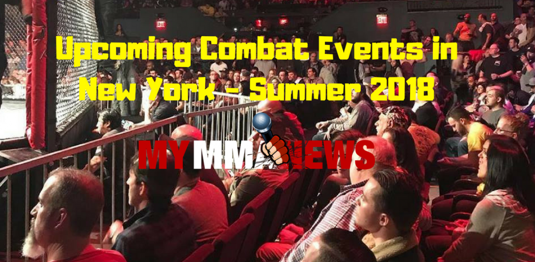 Upcoming Combat Events in New York