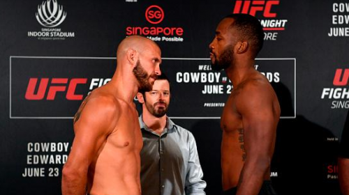 UFC Singapore – UFC Fight Night 132 weigh-in results