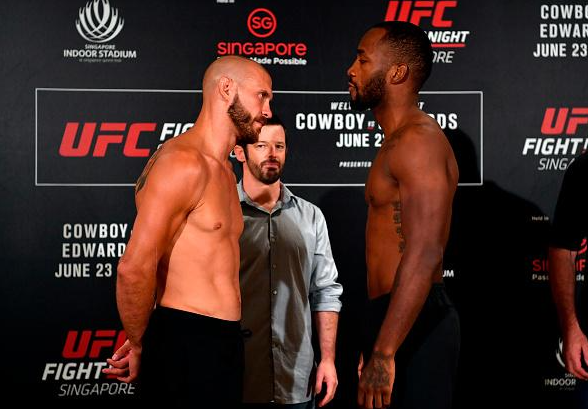UFC Singapore - UFC Fight Night 132 weigh-in results