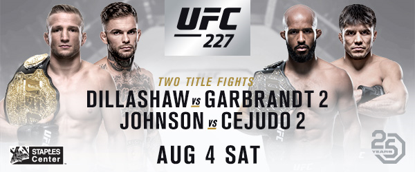 UFC returns to Los Angeles with two exciting championship rematches