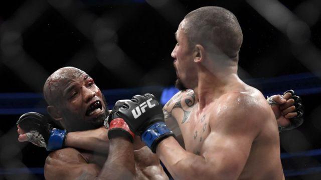 """Robert Whittaker on UFC 225 fight with Yoel Romero: """"He felt like steel"""""""