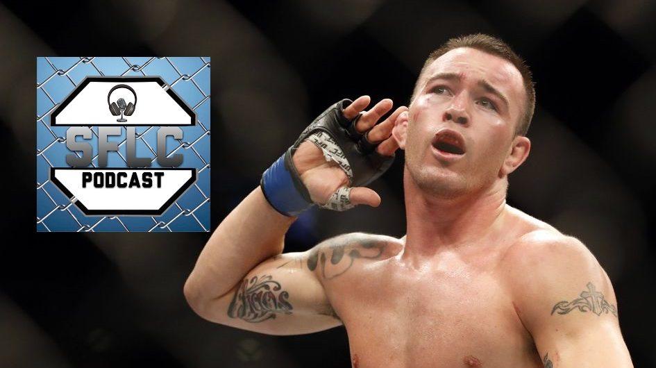 Colby Covington on SFLC Podcast ahead of UFC 225