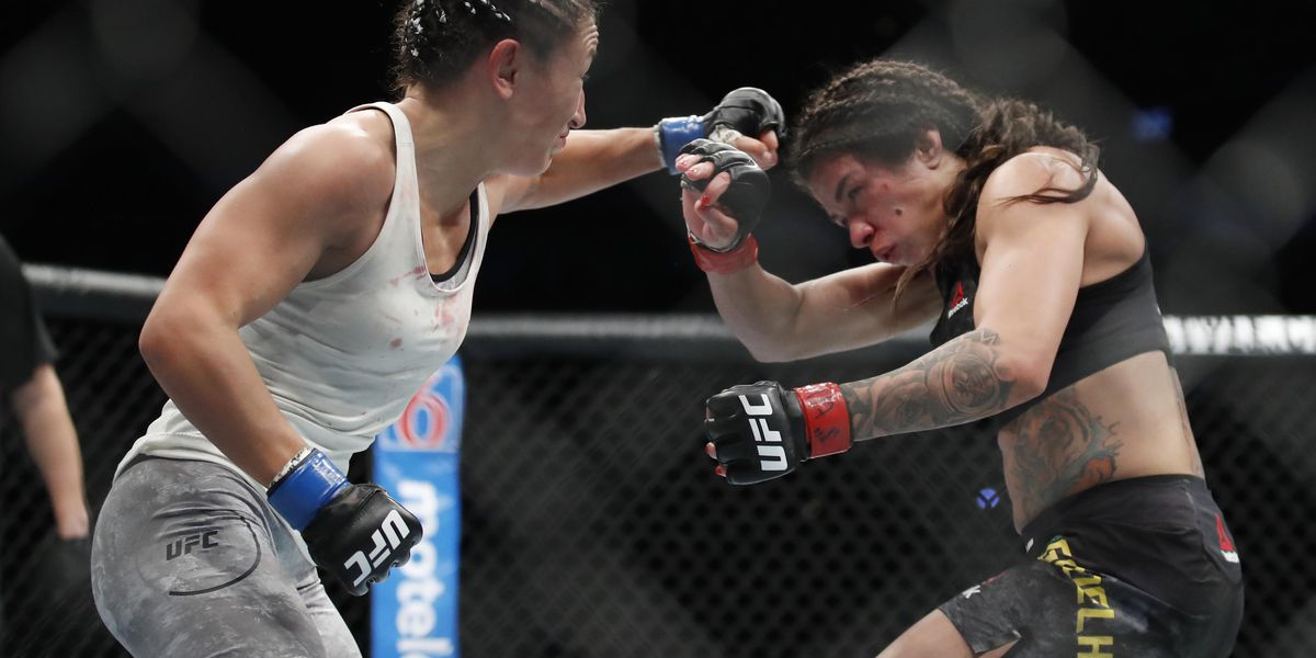 "Carla Esparza says Claudia Gadelha greased at UFC 225: ""She's a cheater"""