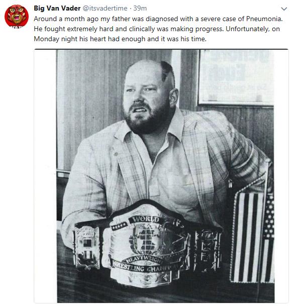 Vader, WWE