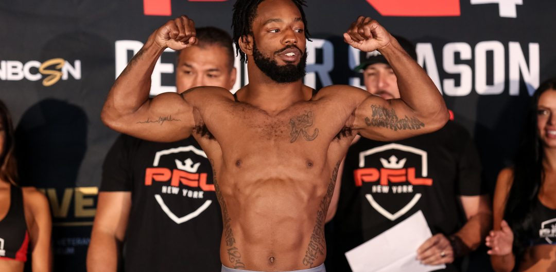 PFL 4 Live Results: Andre Harrison of Long Island looks to remain PERFECT at Nassau Coliseum