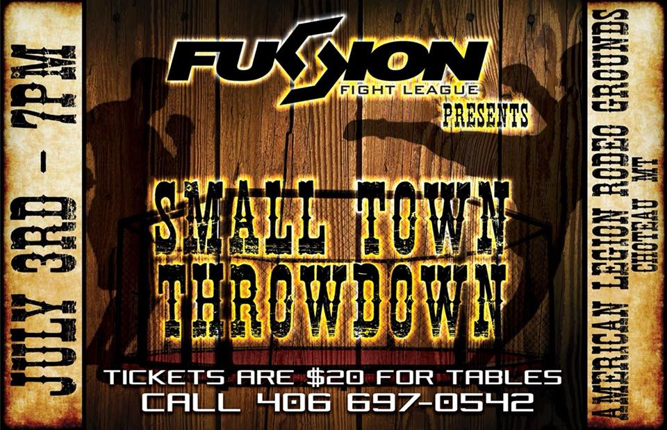 Fusion Fight League - Small Town Throwdown