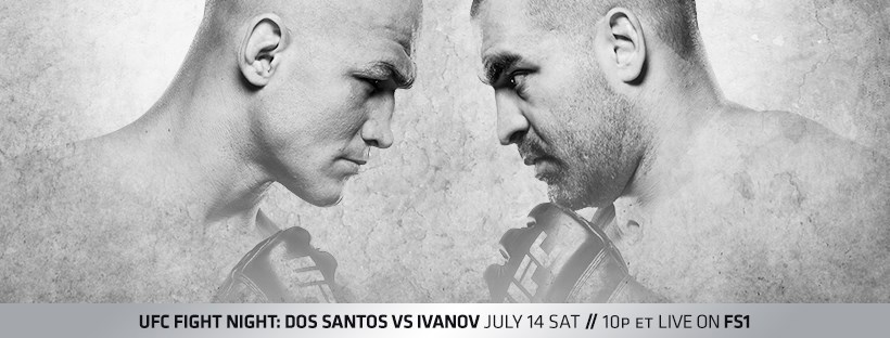 UFC Fight Night 133 Results - Junior Dos Santos vs. Blagoy Ivanov