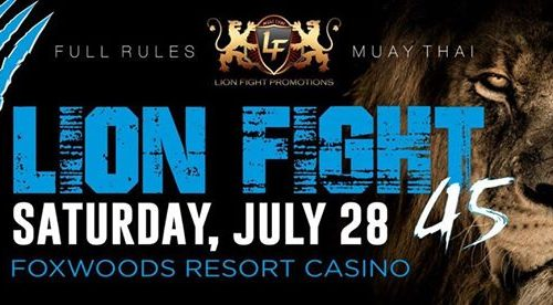 Lion Fight 45 Results from Foxwoods Casino in Connecticut