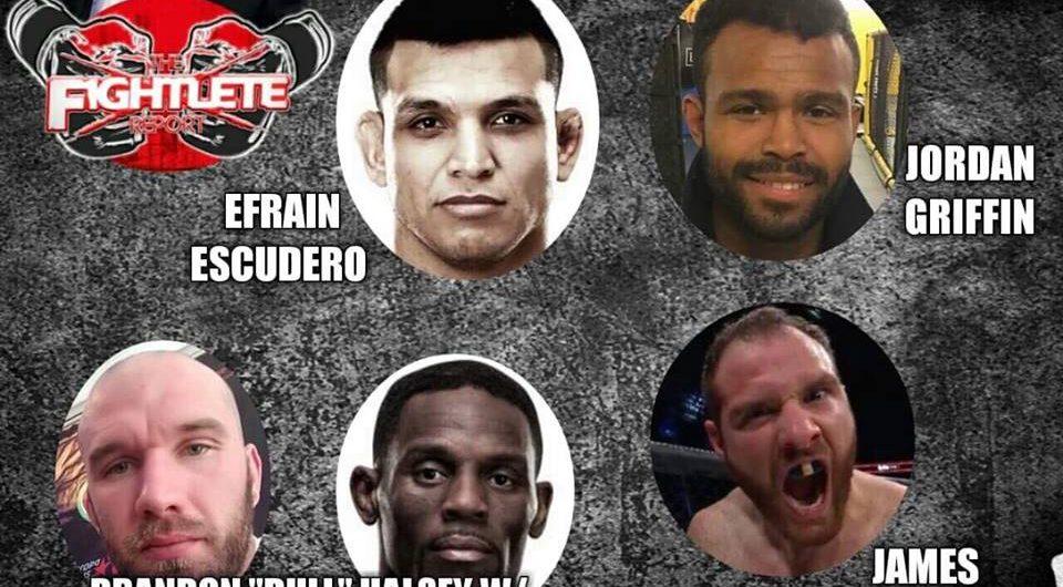 Fightlete Report – Brandon Halsey, Antonio McKee, Efrain Escudero, Jordan Griffin, James Bochnovic