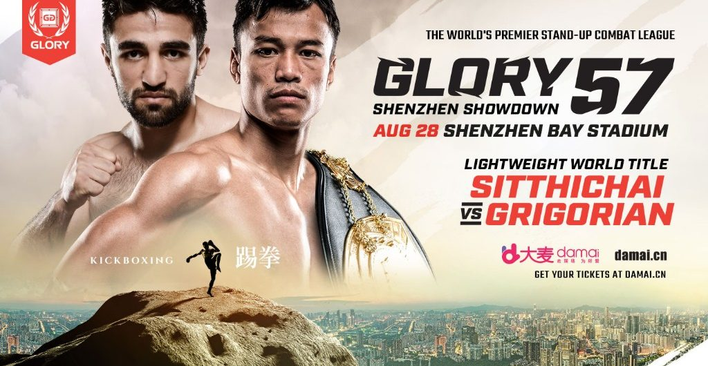 GLORY 57 Shenzhen – GLORY returns to China with 11 Thrilling Bouts