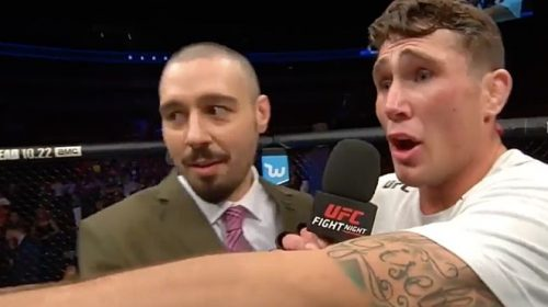 "Darren Till: ""I've been offered a Tyron Woodley fight and he turned the fight down"""