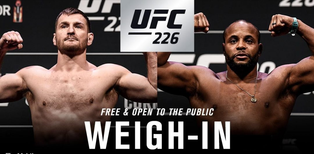 UFC 226 weigh-in results – Stipe Miocic vs Daniel Cormier