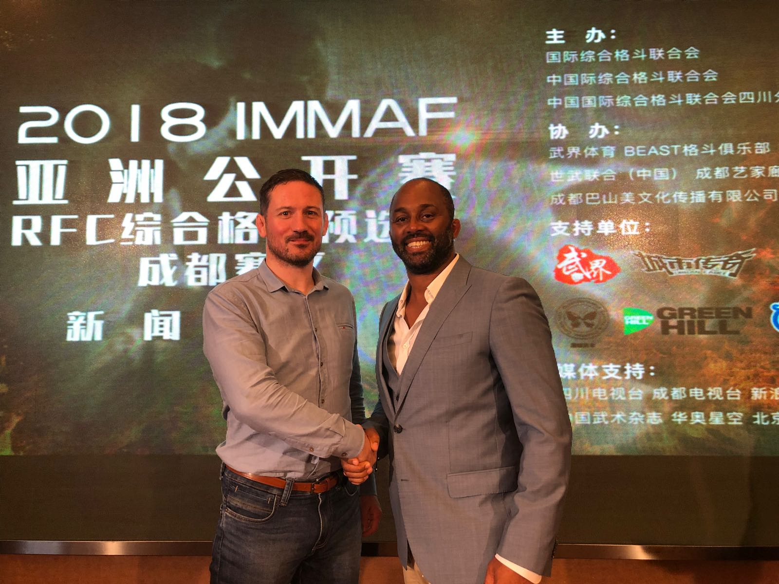 Coach John Kavanagh fronts MMA charge in China
