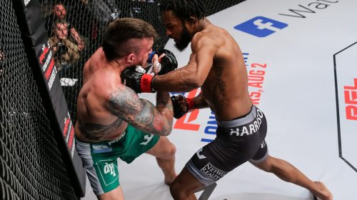 "Perfect at 19-0, Andre ""The Bull"" Harrison Brings Home Victory in Backyard at PFL 4"