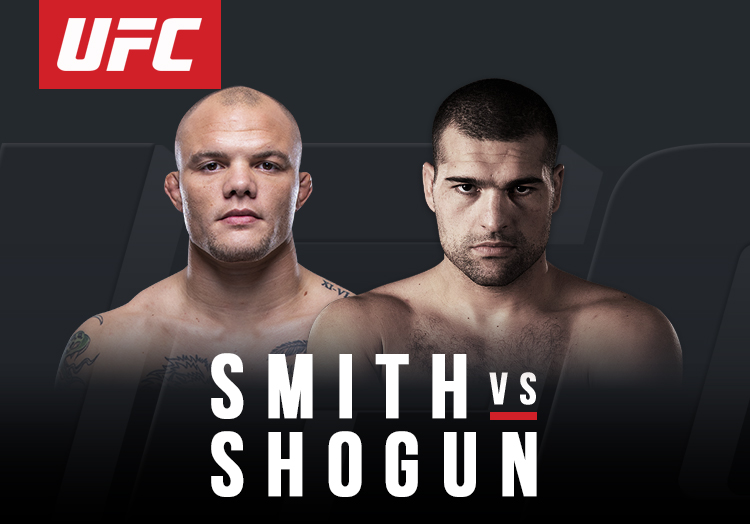 Anthony Smith vs Shogun Rua
