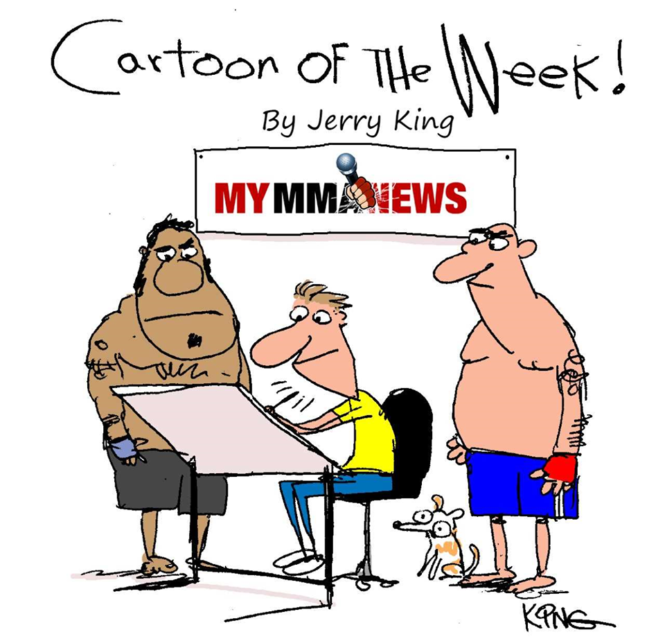 MyMMANews Cartoon of the Week