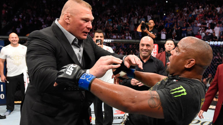 "Daniel Cormier to fellow UFC fighters who called Brock Lesnar confrontation fake: ""Stay broke"""