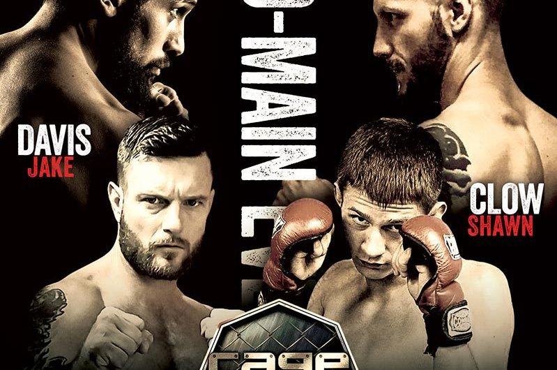 Cage Wars 37 Live Results: Davis TKO's Clow – Martinez Submits Barrett
